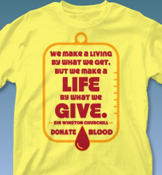 Blood Donor Shirt Designs - Give Quote cool-557g1