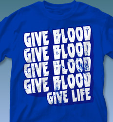 Blood Donor Shirt Designs - Detroit Rock City clas-889h4