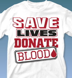 Blood Donor Shirt Designs - Got Power desn-379h4
