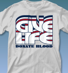 Blood Donor shirt designs - Nassau clas-792z2