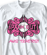 Breast Cancer T Shirt - Groovy clas-559h2