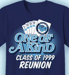 Class Reunion T Shirts - One of A Kind Reunion - cool-981o1