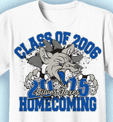 Class Reunion T Shirts - Foxes Homecoming - cool-147f1