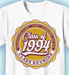Class Reunion T Shirts - Classic Seal - cool-19d2