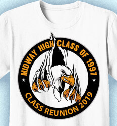 Class Reunion T Shirts - Claw Outta Here- cool-883c2