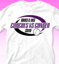 Coaches vs Cancer Shirt Designs - Swirl Cancer - cool-863c1