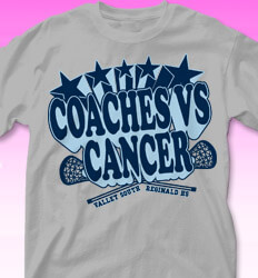 Coaches vs Cancer Shirt Designs - Electric - clas-764g3