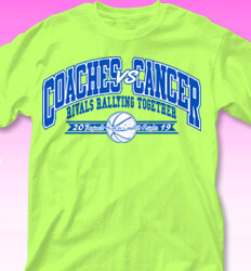 College vs Cancer Shirt Designs - Coaches Band - cool-859c1
