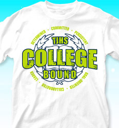 College Bound Shirt Designs - Honor Crest - cool-59h9