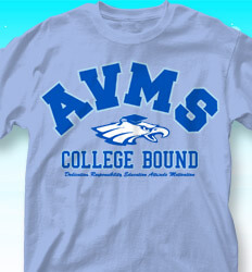 College Bound Shirt Designs - Collegiate Mascot - cool-855c1