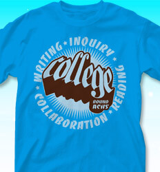 College Bound Shirt Designs - Extruded - clas-692s6