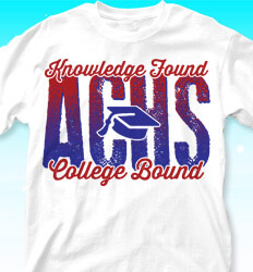 College Bound Shirt Designs - Knowledge Found - cool-852k1