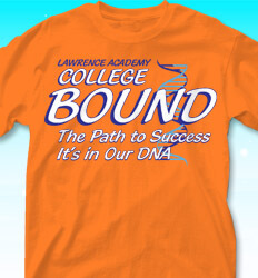 College Bound Shirt Designs - College DNA - cool-854c1