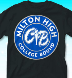 College Bound Shirt Designs - College Bound Label - cool-849c1