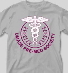 College T Shirts - Pre-Med Society cool-63p1
