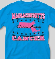 College T Shirts -Care About Cancer cool-62c1