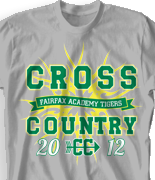 Cross Country T Shirt - Cross Country Tribe desn-524c1