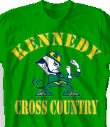 Cross Country T Shirt - Irish Cross Country desn-321i1