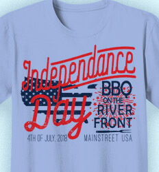 Custom 4th of July T Shirt Design - Independence Day Party - cool-666i2