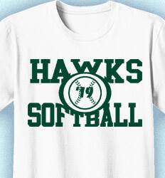 Custom Softball Shirts - College Standard - desn-585c5