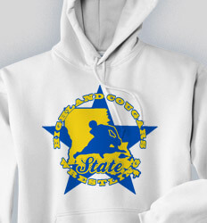 Custom Wrestling Hoodies Designs - All Star State - cool-823a1