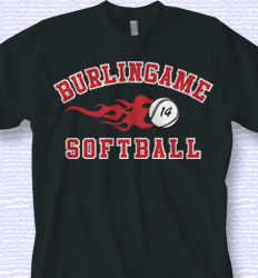 Custom Softball Shirt Design - Athletic Sport clas-507b3