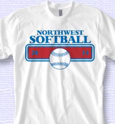 Custom Softball Shirt Design - Softball Belt desn-866s1