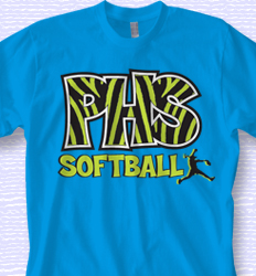Custom Softball Shirt Designs - Animal Print Sport desn-531a4
