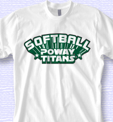Custom Softball Shirt Designs - Star Tech desn-290s7