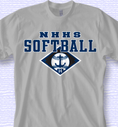 Softball Shirt Designs - College Field desn-871c3