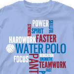 dc317a99b Custom Water Polo T-Shirts - Cool Water Polo Team Shirt Designs ...