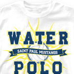 Water Polo Team Shirt - Water Tribe 276w1