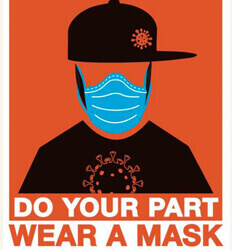 Do Your Part Wear A Mask - San Miguel County, Colorado - Promotes Face Masks