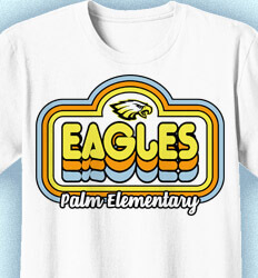 Elementary School T Shirt - Retro Mania - idea-270r1