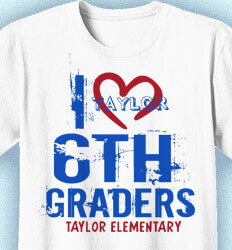 Elementary Shirts for School - Link Heart - logo-88l6