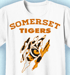 Elementary Shirts for School - Tiger Eye - desn-715t1