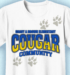 Elementary Shirts for School - Spirit Tracker - cool-449s1
