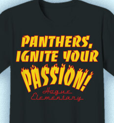 Elementary Shirts for School - Ignite Your Passion - idea-269i1
