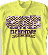 Elementary School Spirit Shirts Designs The T Shirt