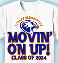 Elementary Shirts for School - Movin On Up - cool-639m1