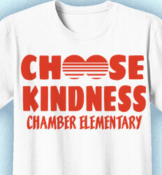 Elementary School Shirts - Choose Kindness - idea-268c1