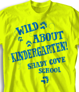 Elementary T Shirt Design - Wild About desn-703w1