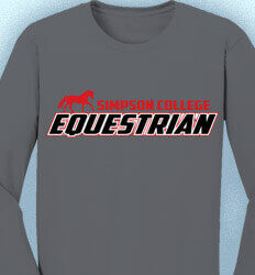 Equestrian Long Sleeve Shirt Designs - Team Identity - cool-468t2