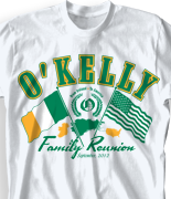 Family Reunion T Shirt - Ireland Reunion 2 desn-446j3