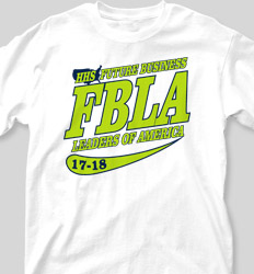FBLA Shirt Designs -  Retro Script 2 clas-631s6