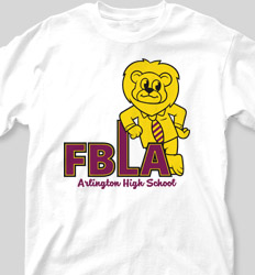 FBLA Shirt Designs - Mascot Friend cool-495m1