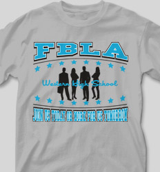 FBLA Shirt Designs - FBLA Cares cool-499f1