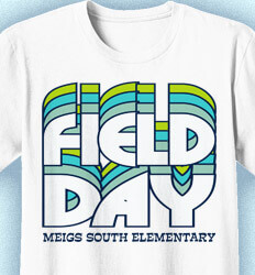Cool Field Day Theme Shirts by IZA Design-NEW Cute Ideas
