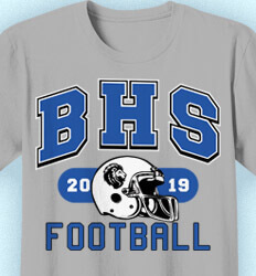 Football T-shirt Designs - School Football - idea-47s1