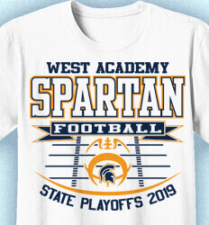 Football T-shirt Designs - State Playoff Field - idea-52s1